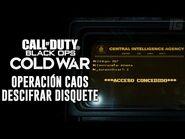 Call of Duty- Cold War - Toda la evidencia & descifrar disquete de la Operación Caos (Español)