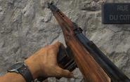 SVT-40 recargando en Call of Duty WWII
