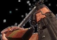 RPK recargando con el accesorio Cargadores Duales en Call of Duty Black Ops