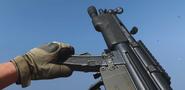 MP5 recargando en Call of Duty Modern Warfare 2019
