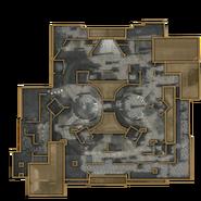 Minimapa de Courtyard WaW