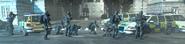 Soldados del SAS haciendo un bloqueo