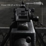 Browning M1919 disparando COD 2