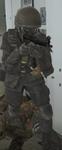 Soldado en Club del ligue aéreo (4)