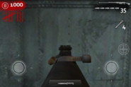 Mira de hierro del PTRS-41 en Call of Duty Zombies