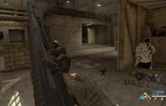 Franchi-12 recargando en Call of Duty Online