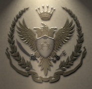 Logo del SPFR en una pared