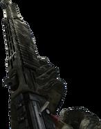 SPAS-12 recargando en Call of Duty Modern Warfare 2