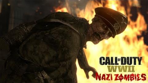 Tráiler oficial de presentación de Call of Duty® WWII Zombis nazis ES