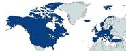 Mapa de la OTAN