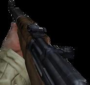 SVT-40 en primera persona en Call of Duty United Offensive