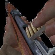 Mosin-Nagant recargando en Call of Duty