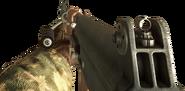 RPK en primera persona en Call of Duty Black Ops