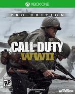 CoD WWII - Carátula de Xbox One de la Edición Pro