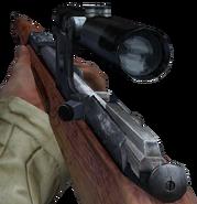 Mosin-Nagant mira telecopica en Call of Duty