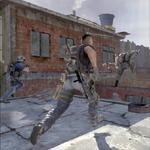 Corriendo por los tejados