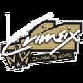 Crimsix Champs2020 Sticker.png