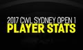 2017 CWL Sydney Open 1 Stats.png