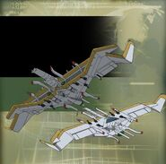 Vehicle - Logres class Flying Battleship - A