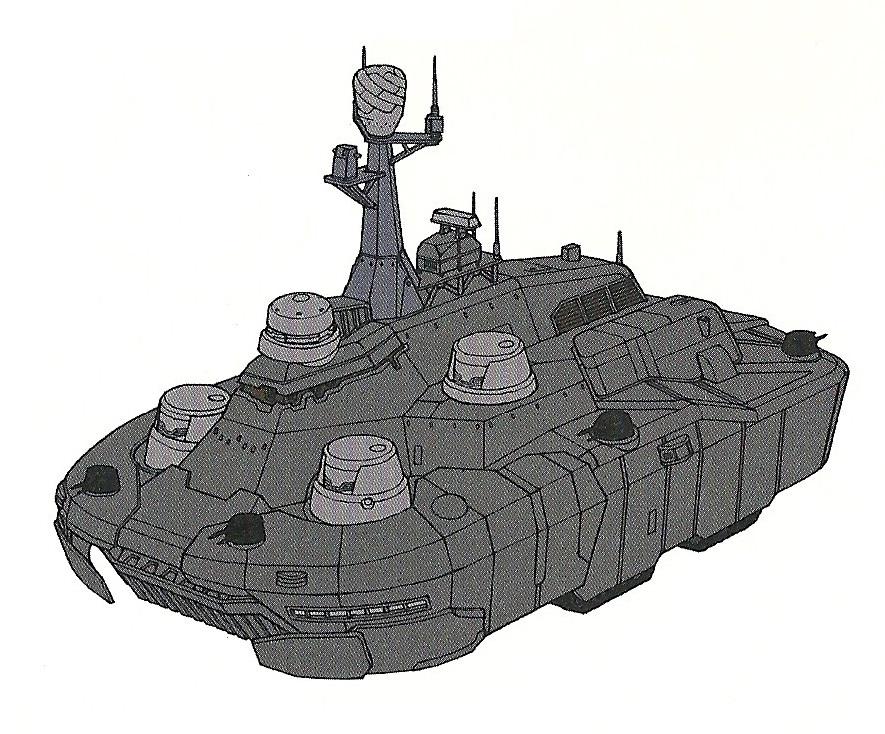 E.U. Army Medium-type-class Land Battleship