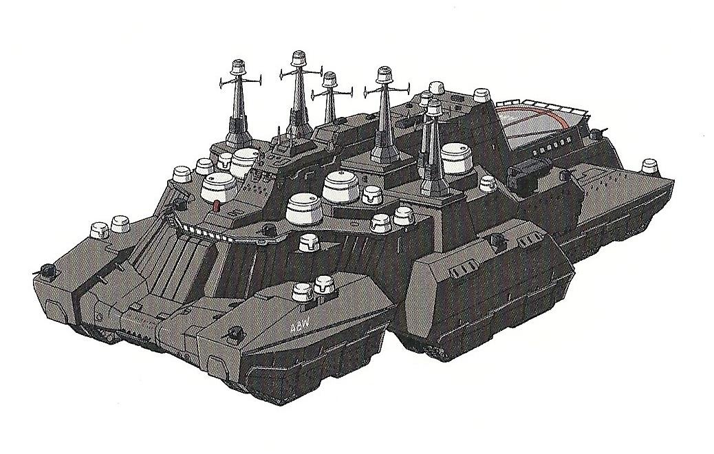 E.U. Army Giant-class Land Battleship