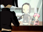 Saint Valentines Day Yumi and Aelita with the necklace image 1