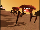 Plagued Krabs walking on Desert wall image 1