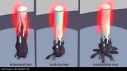 Lyoko Conqueror - Main tower types