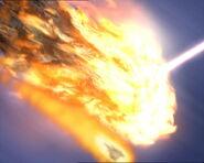 Meteor destruction