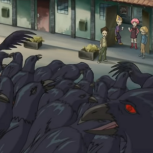 The Lyoko Warriors are looking at the possessed crows.png