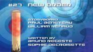 Code Lyoko All Season 2 Title Cards