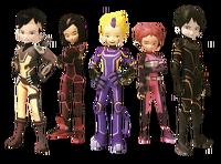 Lyoko Warriors in Evolution