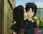 Saint Valentines Day Yumi kisses William image 1