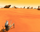 Code Lyoko - The Desert Sector - Rock Formations.png