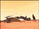 Code Lyoko - The Desert Sector - Greenery