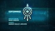 Espionnage title