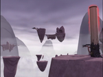 Code Lyoko - The Mountain Sector - Moving Platforms