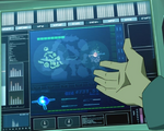 Code Lyoko - The Forest Sector seen Factory Interface