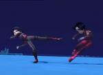 William kicks Yumi