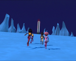 Code Lyoko - The Ice Sector - Icy Rock Formations