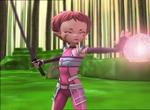 XANA Aelita fires a energy field to Ulrich