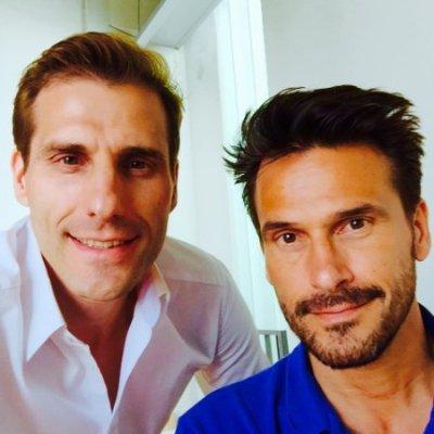 Hervé and Oliver Pérouze