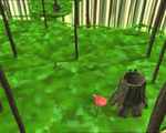 Code Lyoko - The Forest Sector - Tree Stumps
