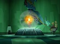 Code Lyoko - The Holomap seen in Seasons 3 and 4