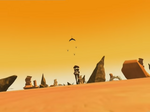 Ulrich following a Manta and three Hornets in the Desert Sector