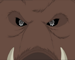 A wild boar possessed by X.A.N.A.