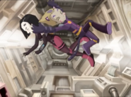 Odd and Yumi arrive to space station