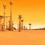 Code Lyoko - The Desert Sector - Spikes and Columns.png