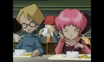 The Key - Jeremie with Aelita at Cafeteria