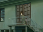 Ulrich sneaks into Yumi's room